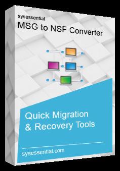 MSG to NSF